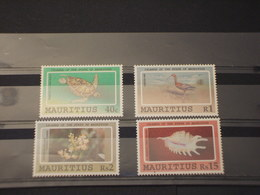 MAURITIUS - 1991 FAUNA 4 VALORI - NUOVI(++) - Mauritius (1968-...)