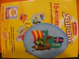 Magnet BROSSARD Europe Islande - Tourisme