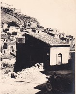 CASTROGIOVANNI Sicile 1926 Photo Amateur Format Environ 6,5 Cm Sur 5 Cm ITALIE - Lieux