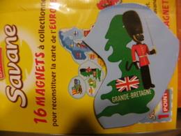 Magnet BROSSARD Europe Grande-Bretagne - Tourisme