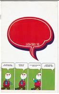 Catalogue Editions DUPUIS Marcinelle - Etrennes 1971 - Spirou / Gaston / Schtroumpfs... 15 Pages - 5 Scans - Publicidad