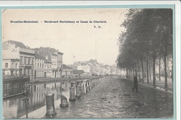 Bruxelles-Molenbeek : Boulevard Barthélemy Et Canal De Charleroi - Molenbeek-St-Jean - St-Jans-Molenbeek