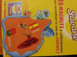 Magnet BROSSARD Europe Espagne-Portugal - Tourisme