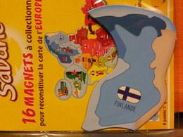 Magnet BROSSARD Europe Finlande - Tourisme