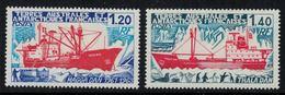 T.A.A.F. // 1977 //   Timbre No.66-67 Y&T Neuf** MNH, Bateaux - Nuevos