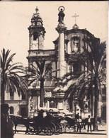 PALERMO PALERME SAN DOMENICO Sicile 1926 Photo Amateur Format Environ 6,5 Cm Sur 5 Cm ITALIE - Lugares