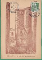 ! - France - YT ... - Cachet Du 28/09/1947 - Cachet De Foire Exposition Cholet - Postal Stamped Stationery