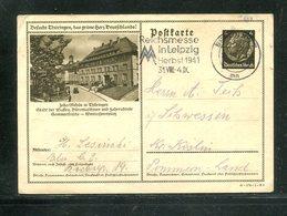 """Deutsches Reich / Bildpostkarte > ZELLA-MEHLIS, Masch.-Stempel Berlin """"Messe Leipzig"""" (17359) - Deutschland"""