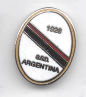 ASD Argentina Sanremo Calcio Distintivi FootBall Soccer Pin Spilla Italy - Calcio