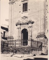 CASTROGIOVANNI Sicile 1926 Photo Amateur Format Environ 6,5 Cm Sur 5 Cm ITALIE - Orte