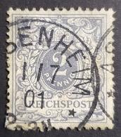 1889-1900 Definitive, Value Stamp, 2 Pfg., Deutsche Reichs Post, Germany, *,**, Or Used - Oblitérés