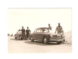 """FO--00124-- FOTO ORIGINALE - AUTO EPOCA """"GIULIETTA ALFA ROMEO"""" BERLINA SPIDER 1965- - Coches"""