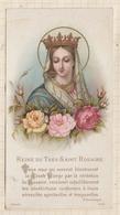 9AL1418 IMAGE PIEUSE RELIGIEUSE   REINE DU TRES SAINT ROSAIRE 1893  2 Scans - Imágenes Religiosas