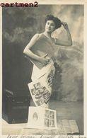 """THEME PRESSE JOURNAUX PUBLICITE JOURNAL """" L'ILLUSTRATION """" EDITEUR MANUEL FEMME FANTAISIE 1900 HAUTECLOQUE NEVERS - Reclame"""