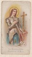 9AL1419 IMAGE PIEUSE RELIGIEUSE   LA BIENHEUREUSE JEANNE D'ARC  2 Scans - Images Religieuses