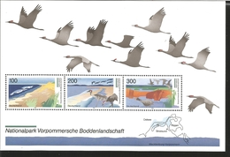 V) 1996 GERMANY, NATIONALPARK VORPOMMERSCHE BODDENLANDSCHAFT, MNH - Unused Stamps