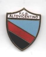 FCD Altovicentino Vicenza Calcio Distintivi FootBall Soccer Pin Spilla Italy - Calcio