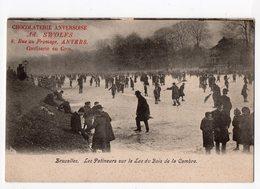 72  -  BRUXELLES  -  Les Patineurs Sur Le Lac Du Bois De La Cambre - Forêts, Parcs, Jardins