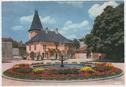 01.283.16 OYONNAX - Edts La Cigogne - L'ancienne Mairie & Le Jet D'eau - Un Coin Du Parc. - Oyonnax