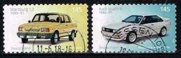 Bund 2018, Michel# 3378 - 3379 O Autos: Wartburg / Audi Selbstlebend Aus Markenset - [7] Federal Republic