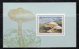1984 Sao Tome St. Thomas  Mushrooms Fungi Souvenir Sheet MNH - Sao Tome Et Principe