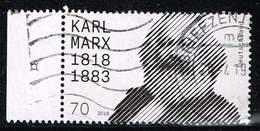 Bund 2018, Michel# 3384 O  200. Geburtstag Karl Marx - Used Stamps