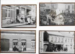 HERENTALS : Geen Postkaart Maar 39 Fotos Van Winkel -cafe- Reproduktie-foto Op Fotopapier-bruine Achterkant Is Aan Foto! - Herentals