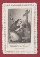 9AL1423 IMAGE PIEUSE RELIGIEUSE DENTELLE Je Vous Salue O Croix....TURGIS  2 Scans - Images Religieuses