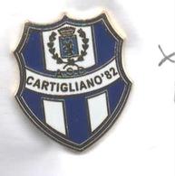ASD Cartigliano Vicenza Calcio Distintivi FootBall Soccer Pin Spilla Italy - Calcio