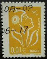 FRANCE Marianne De Lamouche N°3731Aa Légende Philaposte Type II Fleur Blanche Oblitéré - 2004-08 Marianne Van Lamouche