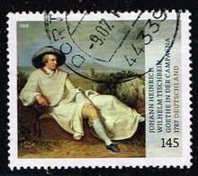 Bund 2018, Michel# 3393 O Schätze Aus Dt. Museen: Goethe In Der Campagne - BRD