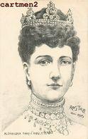 QUEEN ALEXANDRA DANEMARK ILLUSTRATEUR ROSTRO ENGLAND Schleswig-Holstein-Sonderbourg-Glücksbourg 1900 - Royal Families