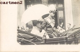 CARTE PHOTO : KING EDOUARD VII OU TSAR NICOLAS II DE RUSSIE FAMILLE ROYALE ROI UNITED-KINGDOM FAMILLE ROYALE - Royal Families