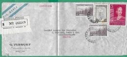 ! - Argentine - Lettre Avec 4 Timbres - Envoi De Buenos Aires Vers Sclessin Fonderies Marichel Ketin (Belgique) - Recomm - Argentine
