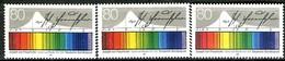 A13-06-1) BRD - 3x Mi 1313 - ** Postfrisch (D) - 80Pf   Fraunhofer - [7] Repubblica Federale