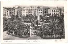 Alicante - Plaza De Los Luceros - Alicante