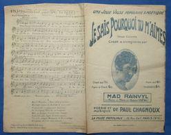 CAF CONC RUE POPULAIRE COMPLAINTE PARTITION PAUL CHAGNOUX MAD RAINVYL 6 TITRES 1928 VOIR DÉTAILS EN PHOTO MUSE FAMILIALE - Music & Instruments