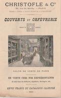 Paris, 56 Rue De Bondy. Prix-courant De La Maison CHRISTOFLE & Cie Superbement Illustré. (document) - France