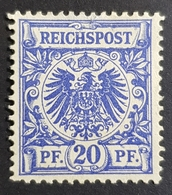 1889-1900 Definitive, Value Stamp And Imperial Eagle, 20 Pfg., Deutsche Reichs Post, Germany, *,**, Or Used - Deutschland