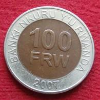 Rwanda 100 Francs 2007 KM# 32 Ruanda - Rwanda