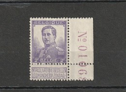 COB N° 117 ** - 1912 Pellens