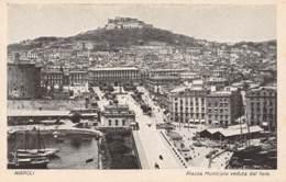NAPOLI - Piazza Municipio Veduta Dal Faro - Napoli (Naples)