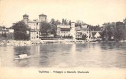TORINO - Villaggio E Castello Mediovale - Multi-vues, Vues Panoramiques