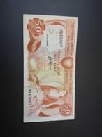 CYPRUS 50 CENT 1989. VF - Cyprus