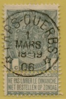 +MW-3820    *  ERPS QUERBS *   OCB 53     Sterstempel     COBA   +50 - 1893-1907 Armoiries