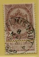 +MW-3829    *  FALMIGNOUL  *   OCB 55        Sterstempel     COBA   +15 - 1893-1907 Wapenschild