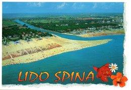 Lido Di Spina - Panorama Dal Mare - Italy