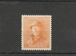 COB N° 175 ** - 1919-1920 Roi Casqué