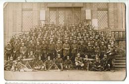 Carte Photo à Identifier - Camp De Beverloo - 2 Scans - Regimente