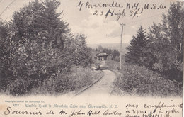 RPPC REAL PHOTO POSTCARD GLOVERSVILLE NY ELECTRIC TRAIN 1905 - Other